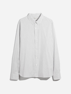GREEN STRIPE oxford shirt mens dress shirts adrian striped oxford shirt ons clothing