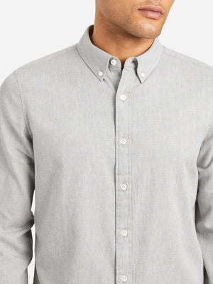 HEATHER GREY mens oxford shirt fulton oxford shirt blue heather button down collar shirt fulton peached twill shirt grey heather