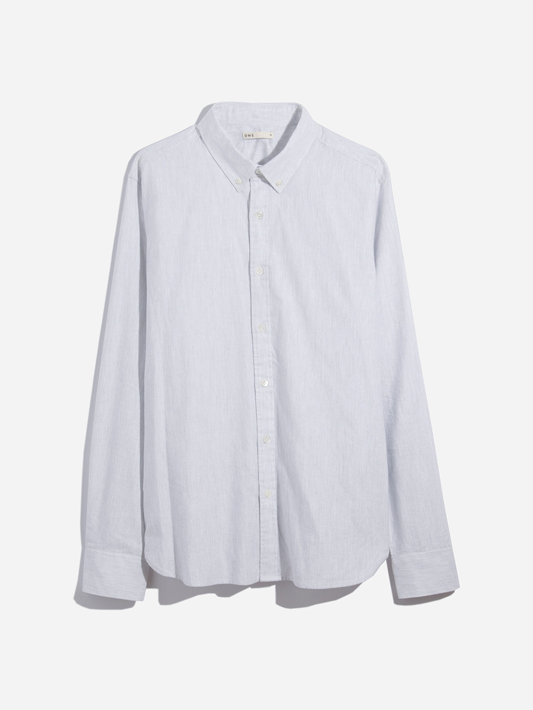 HEATHER GREY mens oxford shirt fulton oxford shirt blue heather