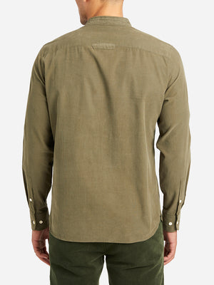 OLIVE GREEN shirts for men aleks cord shirt ons clothing