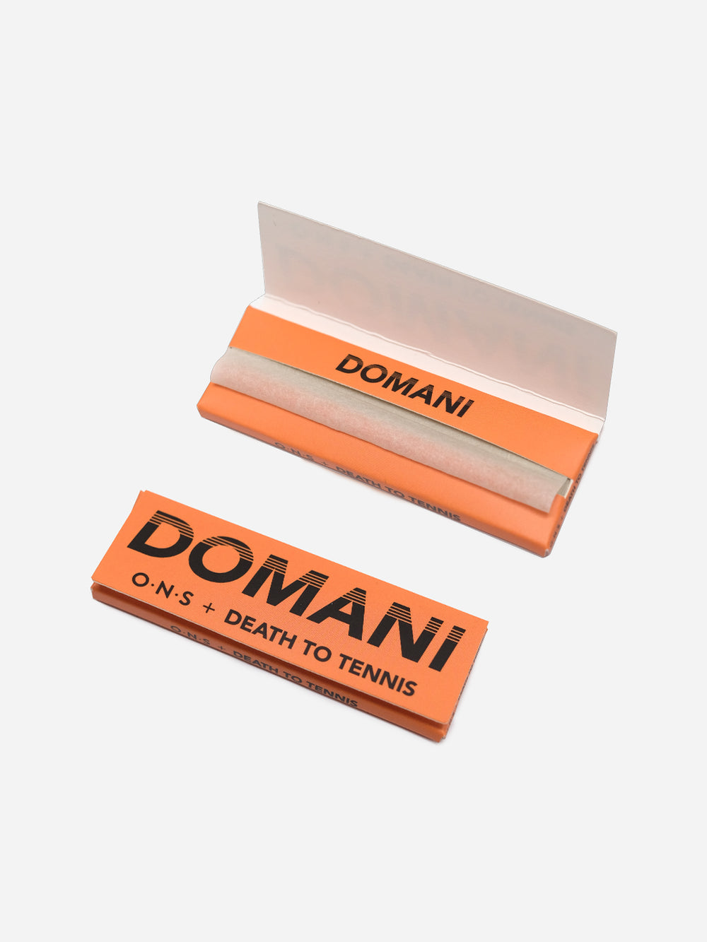 ORANGE ons x dtt domani rolling papers