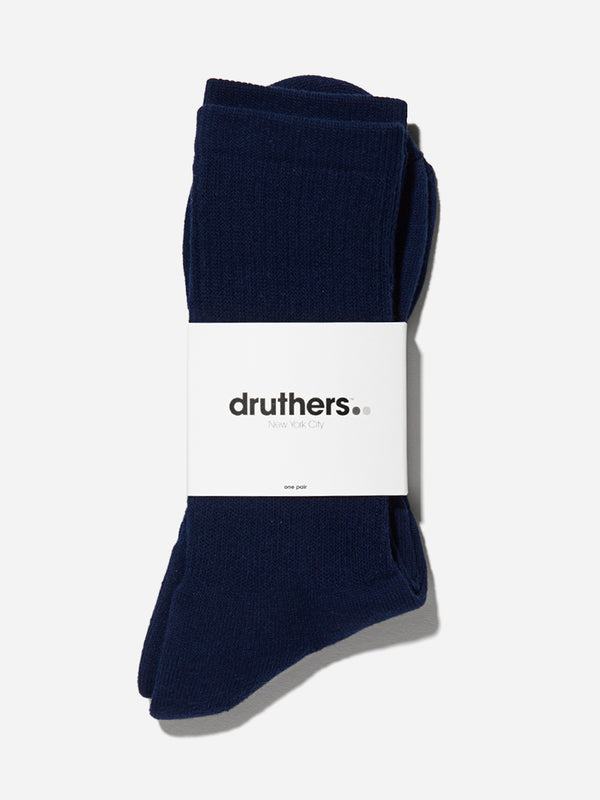 NAVY druthers socks for ons clothing