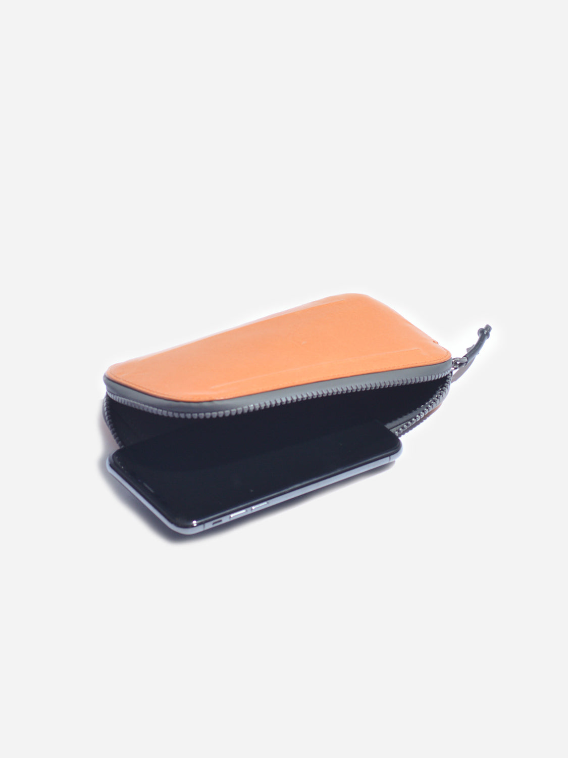 ALL CONDITIONS PHONE POCKET PLUS - LEATHER BURNT ORANGE