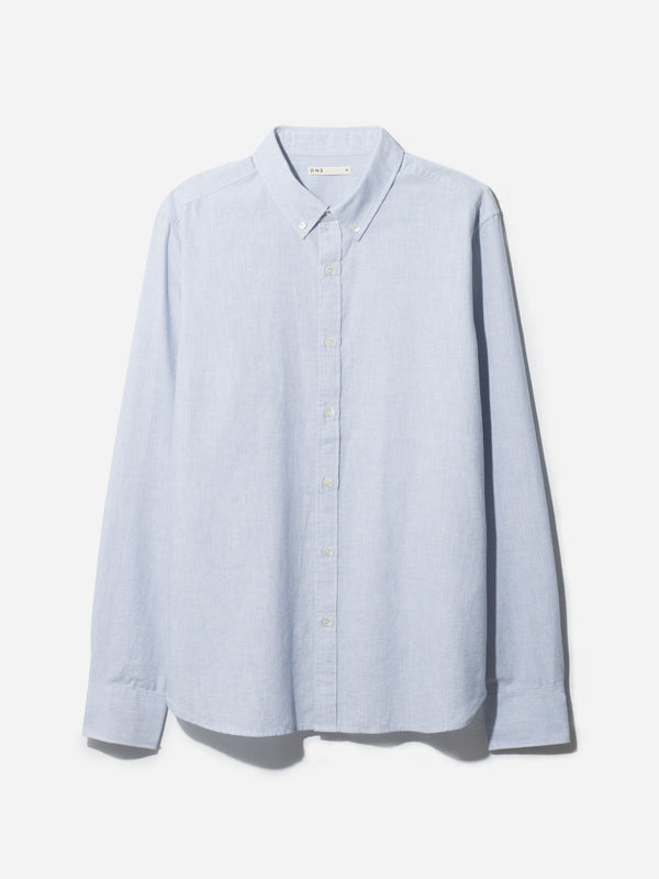 FULTON OXFORD SHIRT BLUE HERITAGE LINE