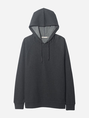 "FRENCH TERRY HOODIE ""DK. GREY"" HERITAGE LINE"