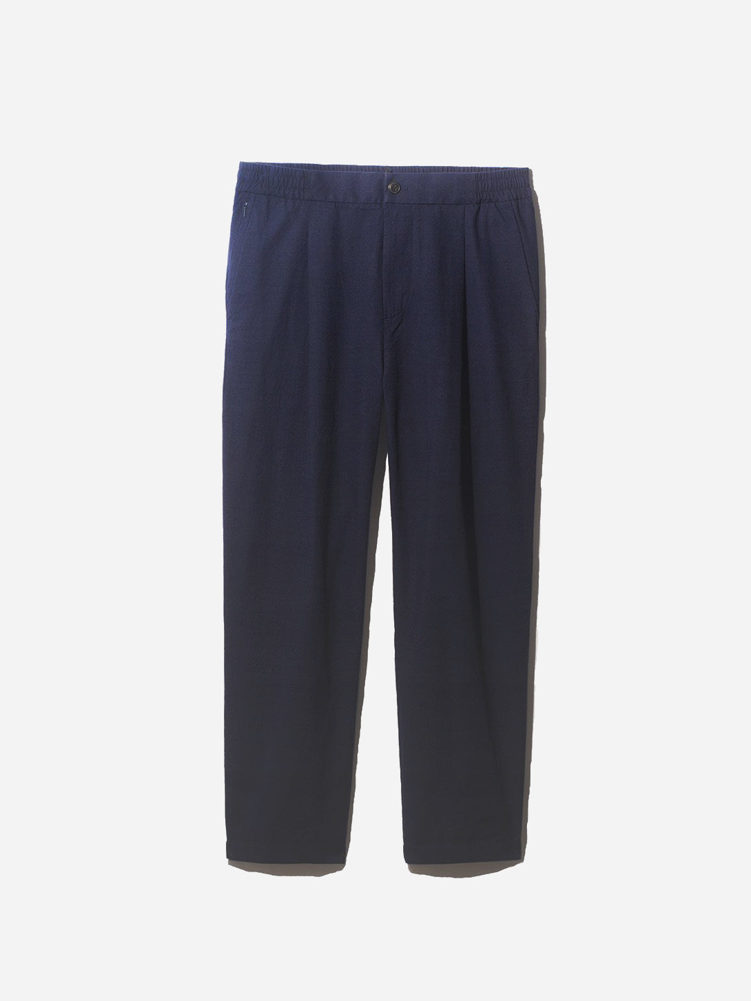 WARD COTTON PANT NAVY GREY LABEL