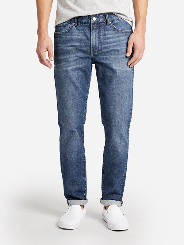 INDIGO DENIM HOUSTONS MID WASH DENIM HERITAGE LINE