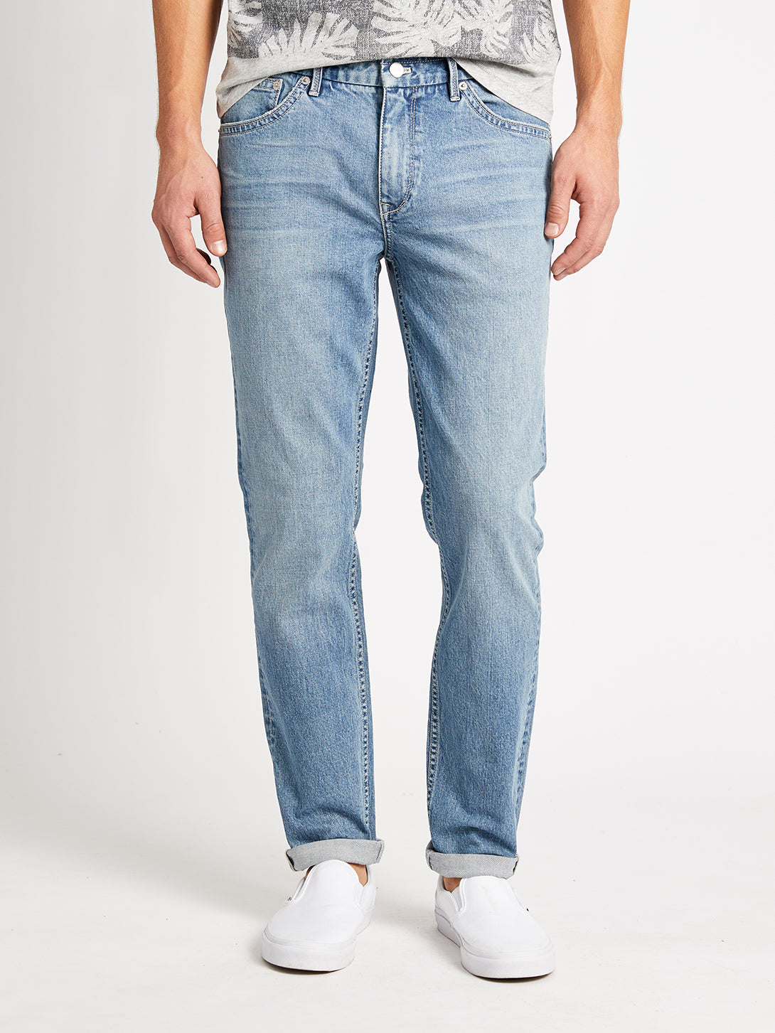 INDIGO DENIM RIVINGTONS LIGHT WASH DANIM