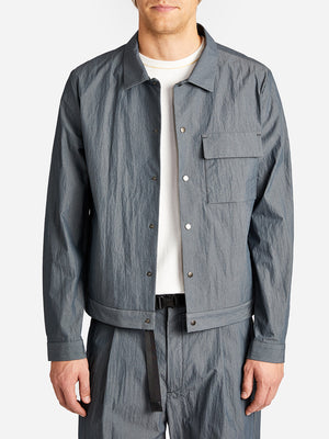 KURA JACKET SLATE ONS CLOTHING GREY LABEL
