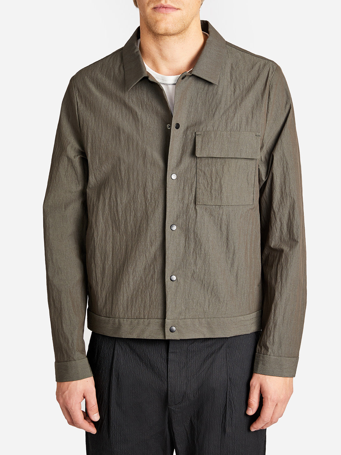 KURA JACKET OLIVE ONS CLOTHING GREY LABEL