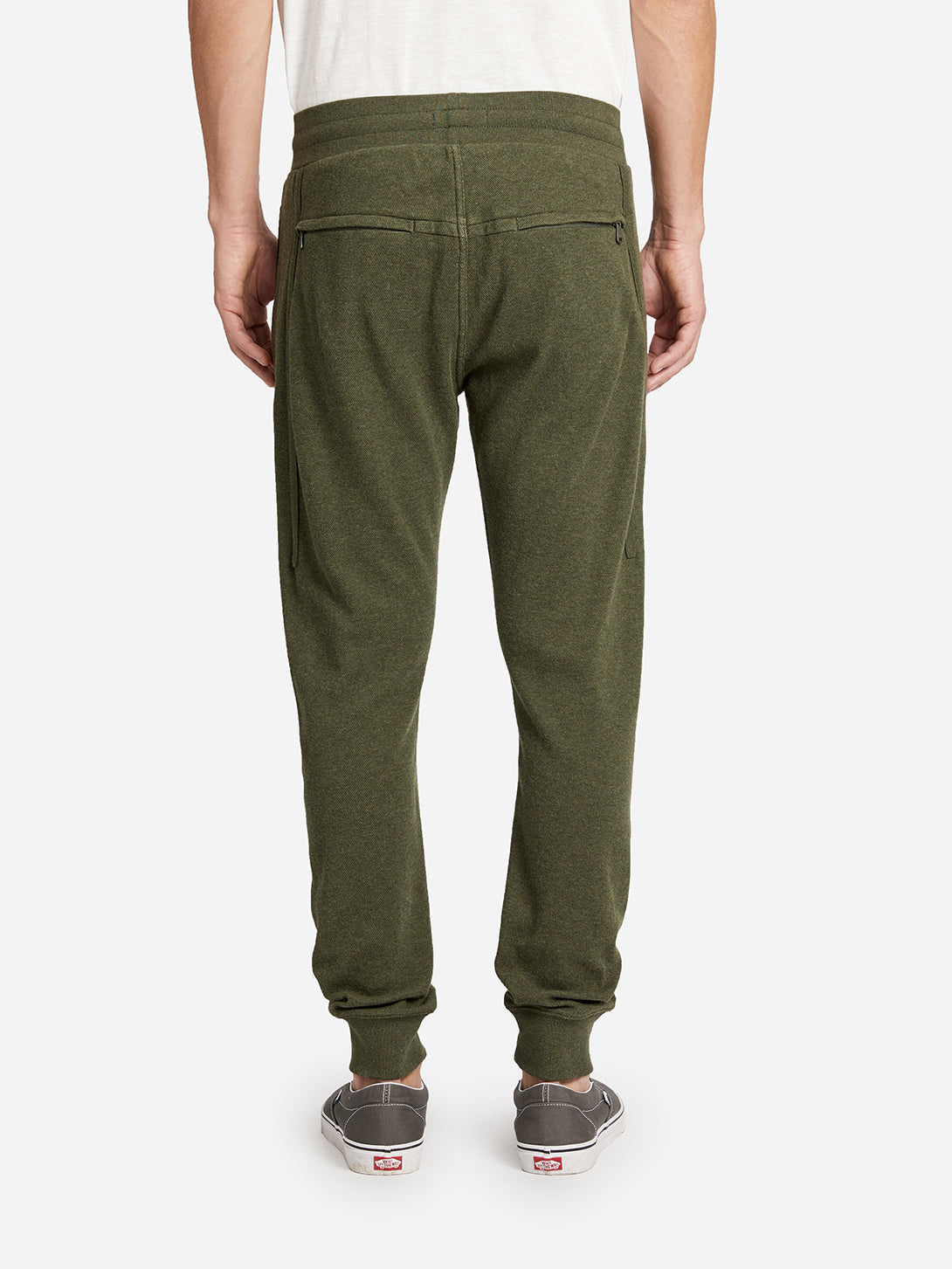 BKLYN JOGGER GREEN HERITAGE LINE