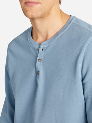 WAFFLE COURT HENLEY BLUE SHADOW HERITAGE LINE
