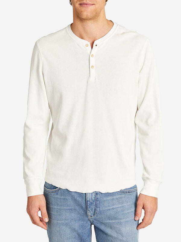 WAFFLE COURT HENLEY WHITE HERITAGE LINE