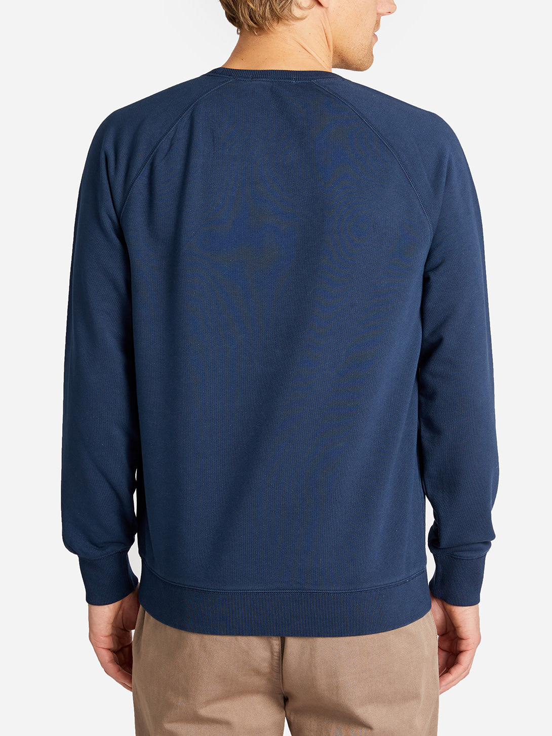 FRENCH TERRY SWEATSHIRT NAVY HERITAGE LINE