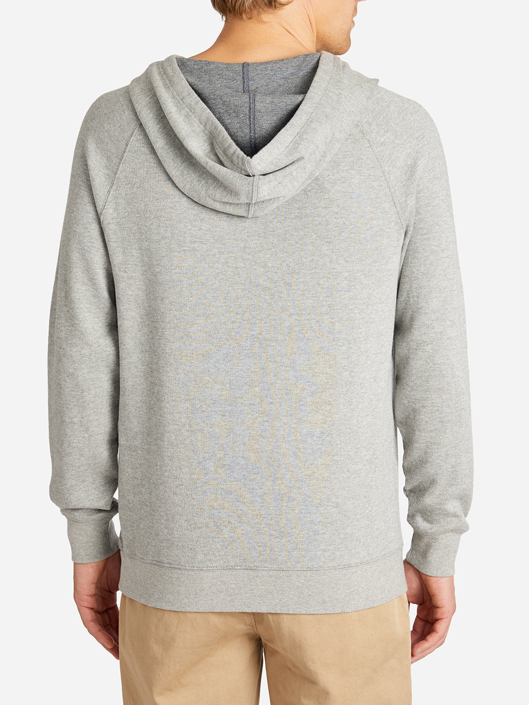 FRENCH TERRY HOODIE LT. GREY HERITAGE LINE