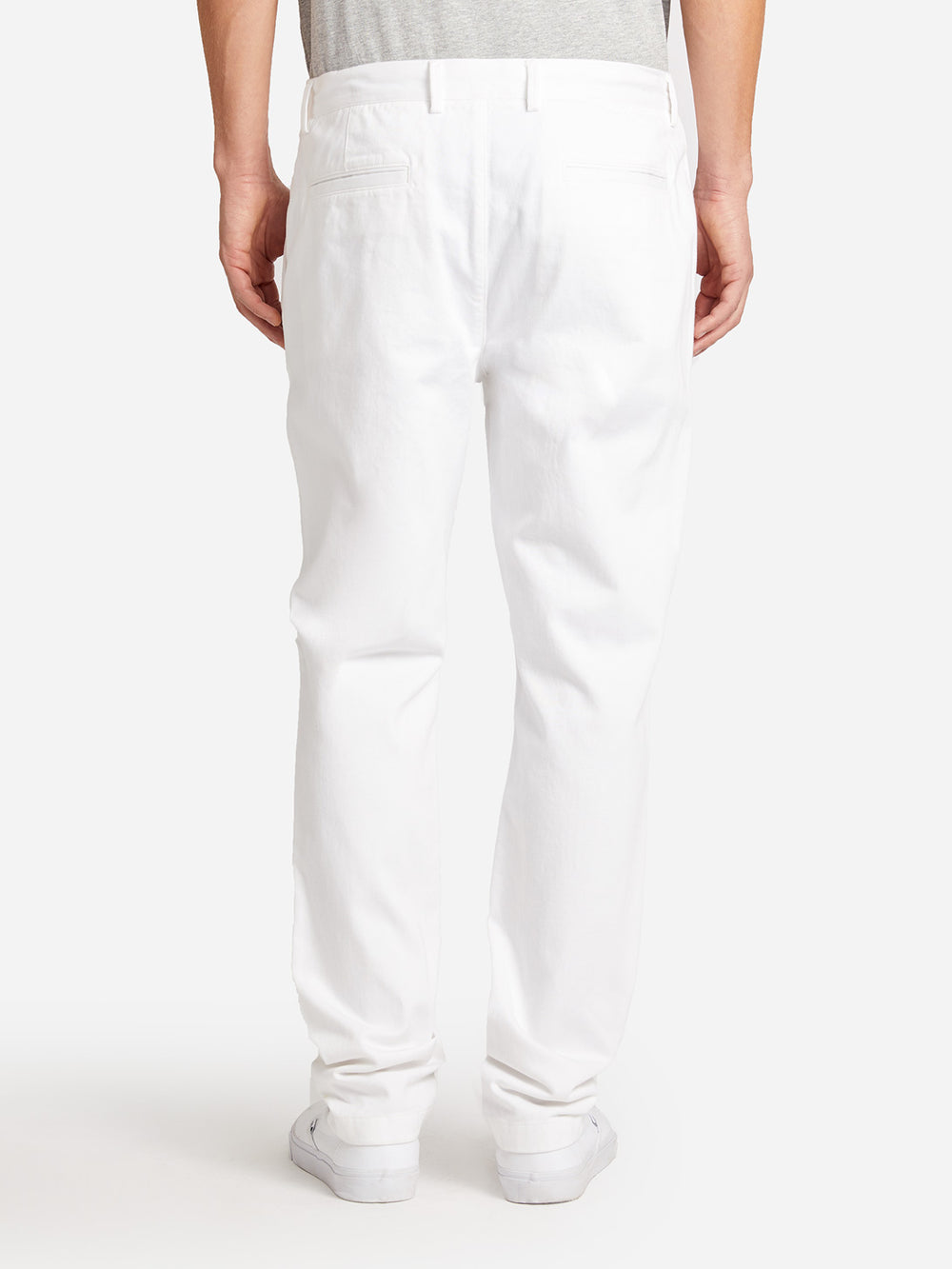 ONS CLOTHING RIDER CHINO BRIGHT WHITE