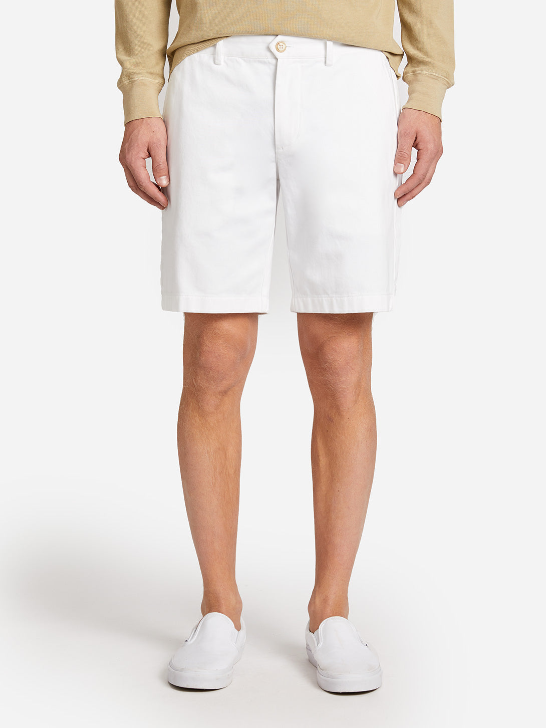 TWILL MODERN SHORT BRIGHT WHITE ONS CLOTHING