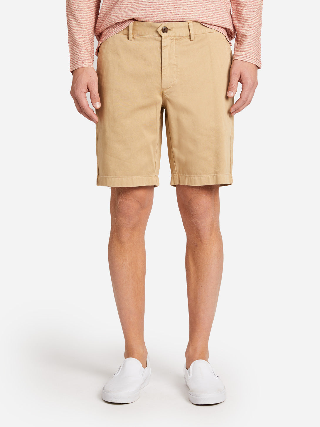 TWILL MODERN SHORT CAMEL ONS CLOTHING
