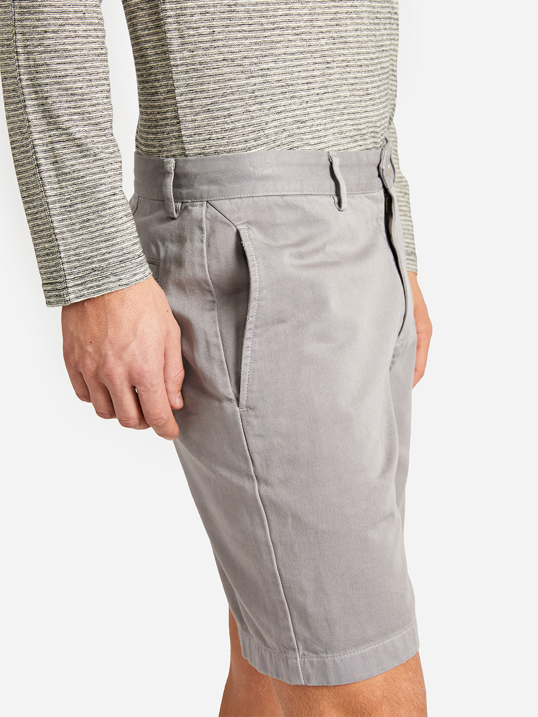 TWILL MODERN SHORT DRIZZLE ONS CLOTHING
