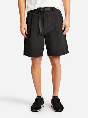 ACADIA SHORT JET BLACK GREY LABEL