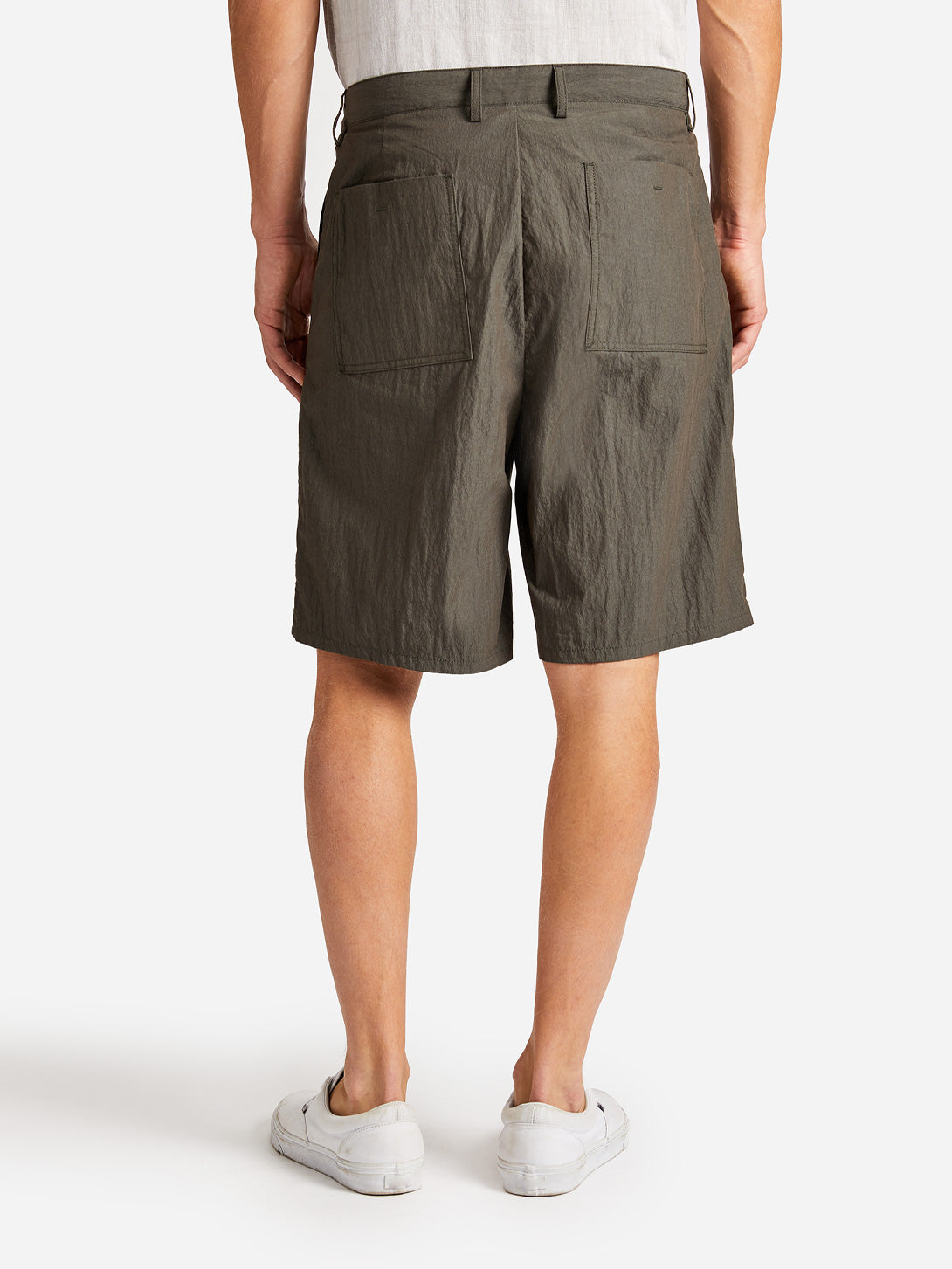 ACADIA SHORT OLIVE ONS CLOTHING GREY LABEL