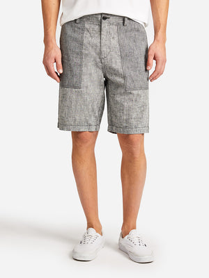INSA SHORT GREY LABEL ONS CLOTHING