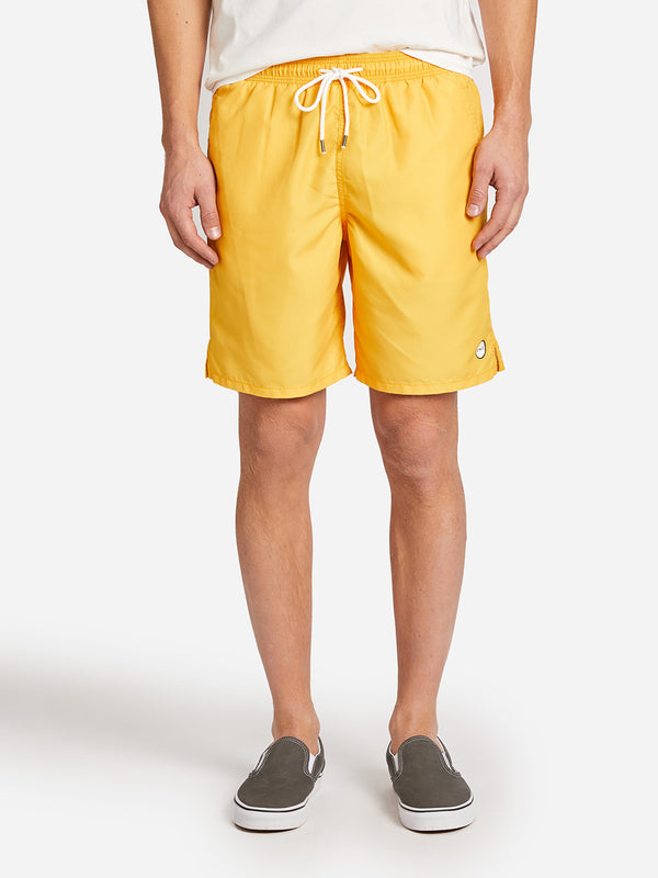 BRIGHTON SWIM SHORT YELLOW ONS CLOTHING
