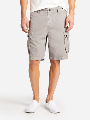 CARGO SHORT FROST GRAY ONS CLOTHING