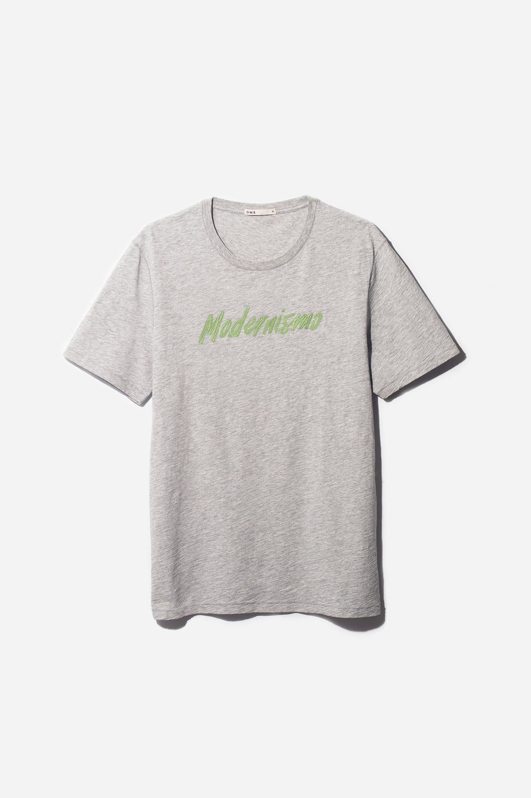 3D MODERNISMO PRINT TEE GREEN HERITAGE LINE