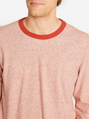 SYLVAN SPLIT SLEEVE ONS CLOTHING DARK CORAL