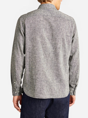 ARIK SHIRT CHARCOAL GREY LABEL