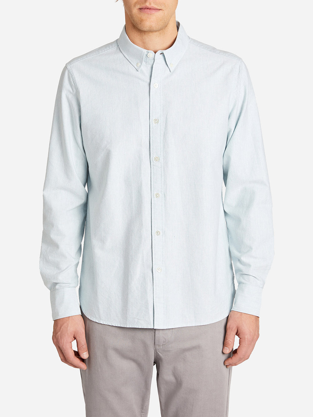 FULTON OXFORD SHIRT LT. GREEN HERITAGE LINE