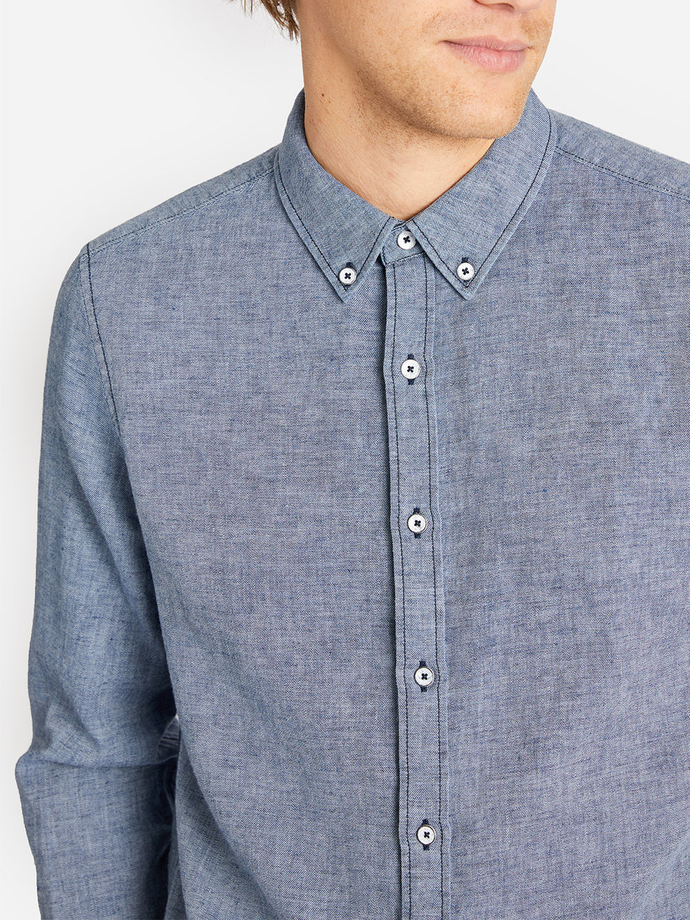 FULTON SHIRT ONS CLOTHING INDIGO