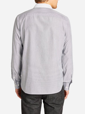 COLOR BLOCKING FULTON SHIRT GREY MINI HERITAGE LINE