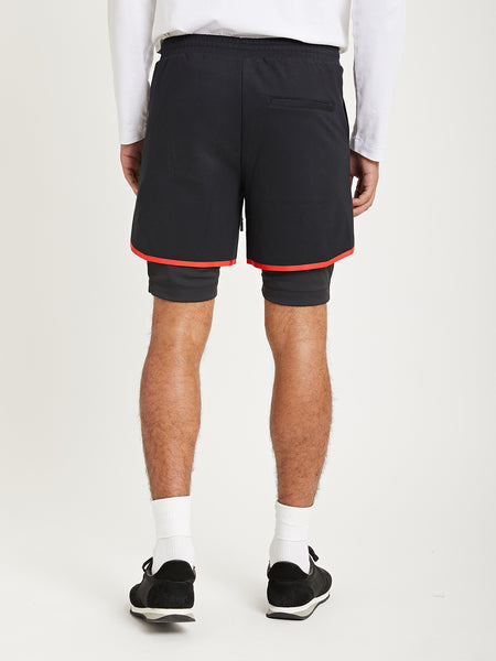 BLACK ONS Death to Tennis Creative Lab track shorts