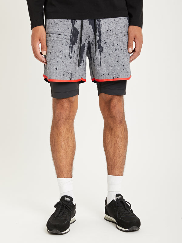 TREAD CAMO ONS Death to Tennis Creative Lab track shorts