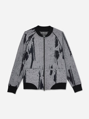 TREAD CAMO ONS x DTT creative live collaboration  double knit jacket
