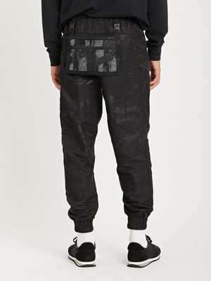 BLACK ONS Death to Tennis Creative Lab nylon jogger