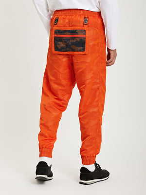 ORANGE ONS Death to Tennis Creative Lab nylon jogger