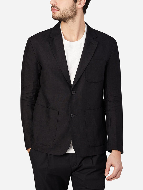JET BLACK blazers for men emery blazer ons clothing