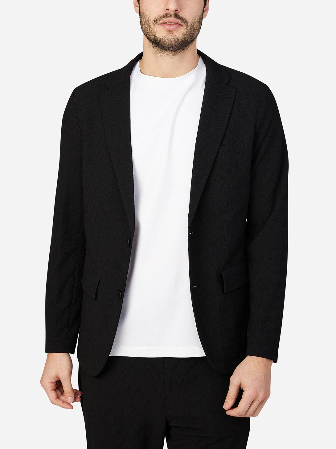 JET BLACK blazer for mens conduit blazer ons clothing