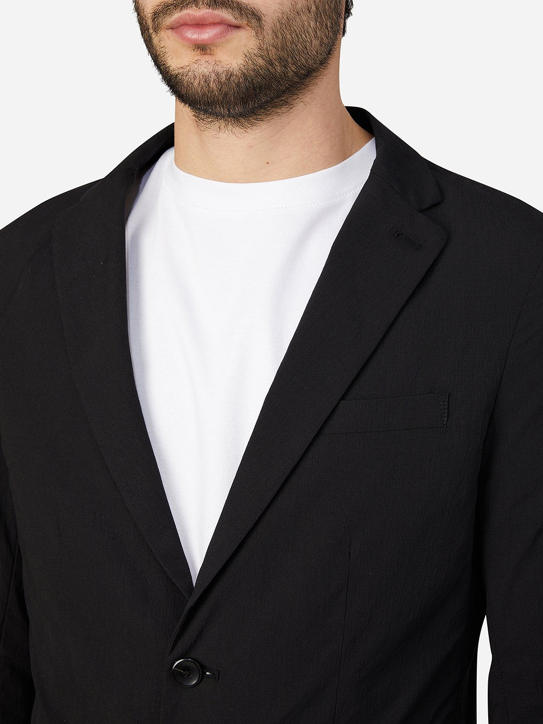 JET BLACK blazers for men conduit packable blazer ons clothing