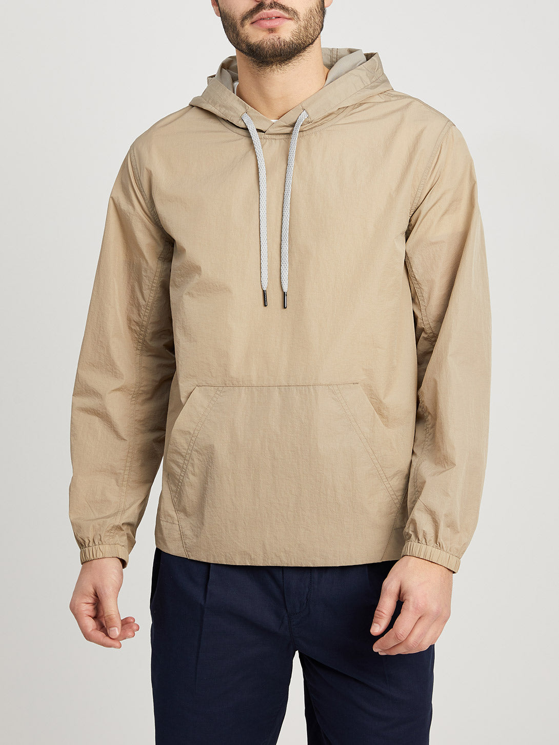 KHAKI jackets for men cayden anorak ons clothing