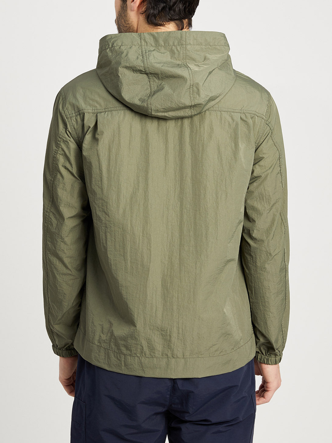 OLIVE GREEN jackets for men cayden anorak ons clothing