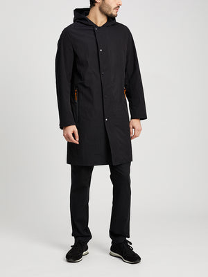 JET BLACK jackets for men reese parka ons clothing