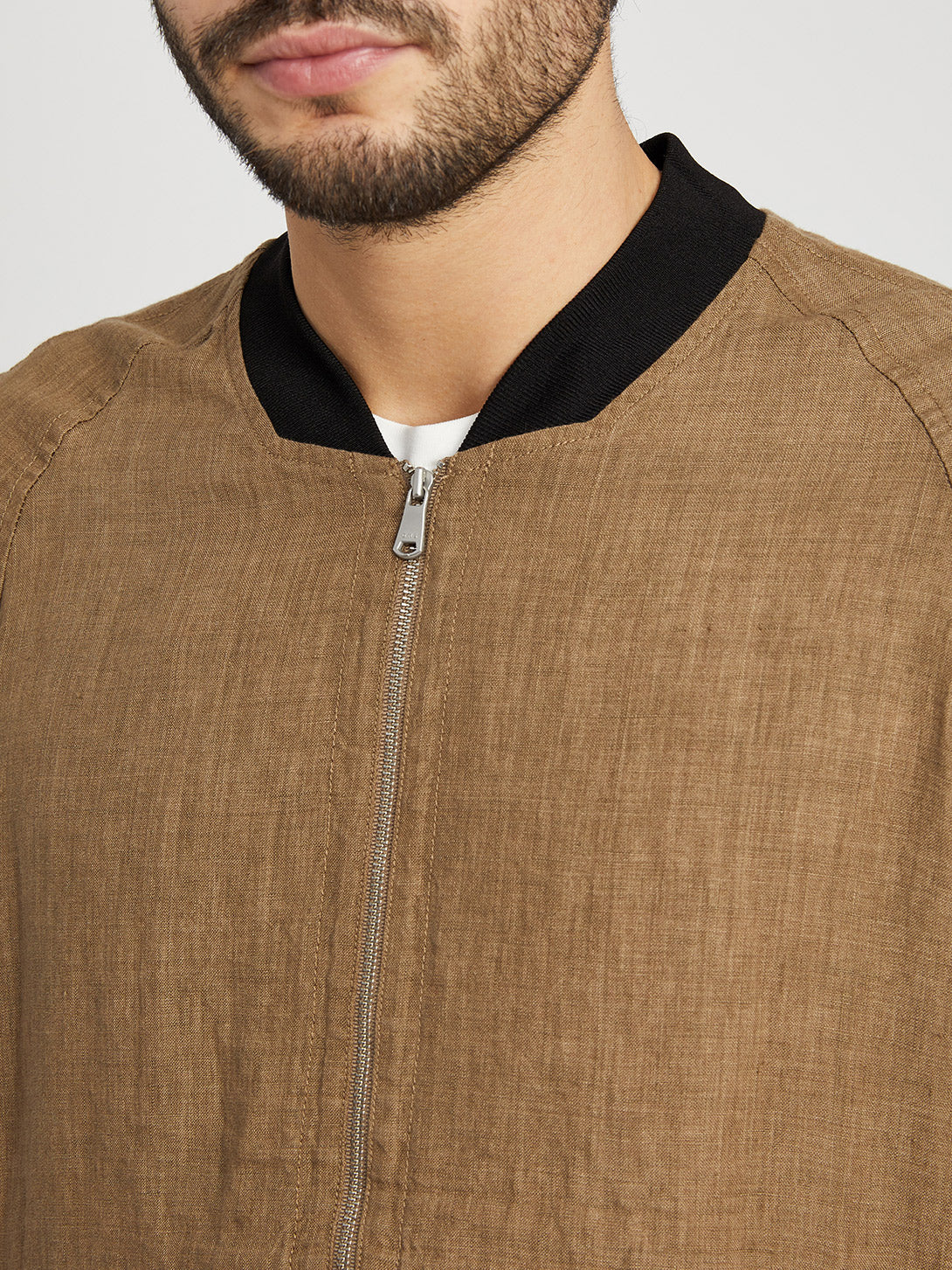 LIGHT BROWN jackets for men lora bomber ons clothing