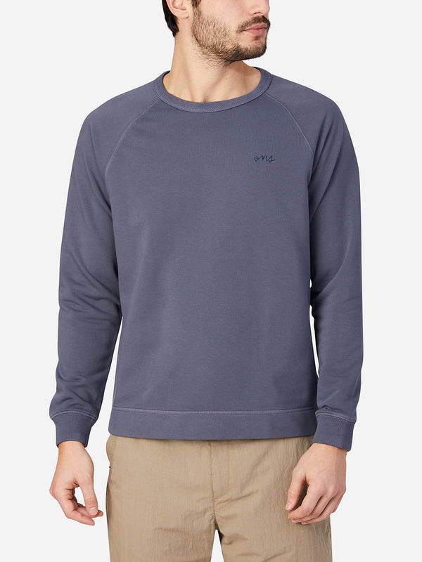 black friday deals ONS Clothing Men's Sweatshirt in INDIGO BLUE