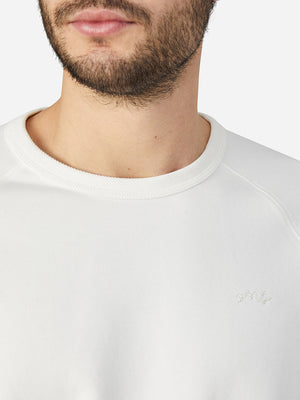 black friday deals ONS Clothing Men's Sweatshirt in WHITE