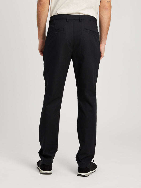 JET BLACK pants for men modern chino ons clothing