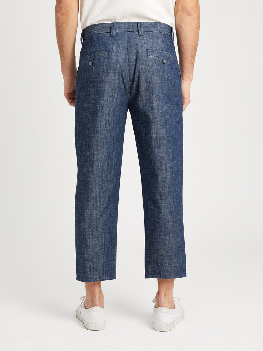 INDIGO DENIM ASTOR TROUSER ONS Clothing Indigo Capsule